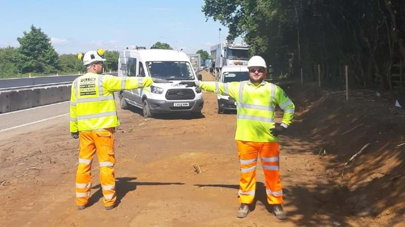 Creativity keeps roadworkers safe and the country moving